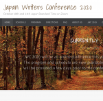 Japan Writers Conference (Online), October 10–11, Tokyo